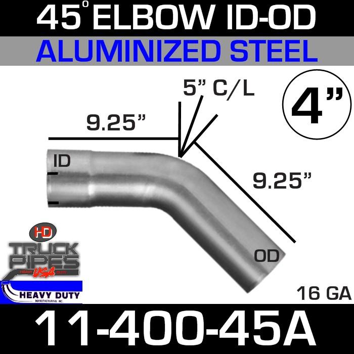 45 Degree Exhaust Elbow 4