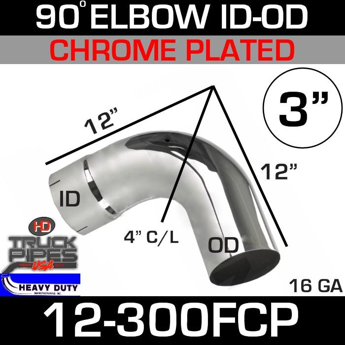 90 Degree Exhaust Elbow 3