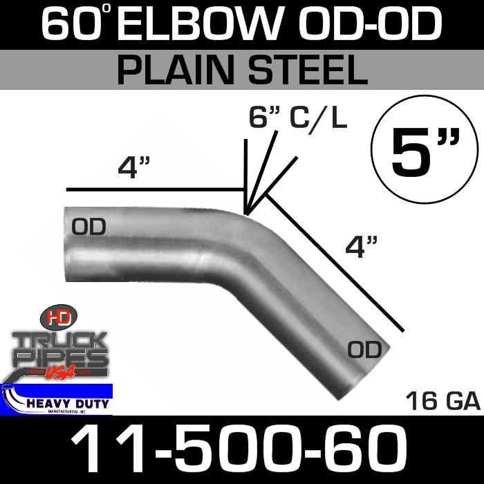 60 Degree Exhaust Elbow 5