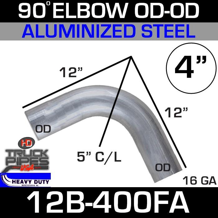 90 Degree Exhaust Elbow 4