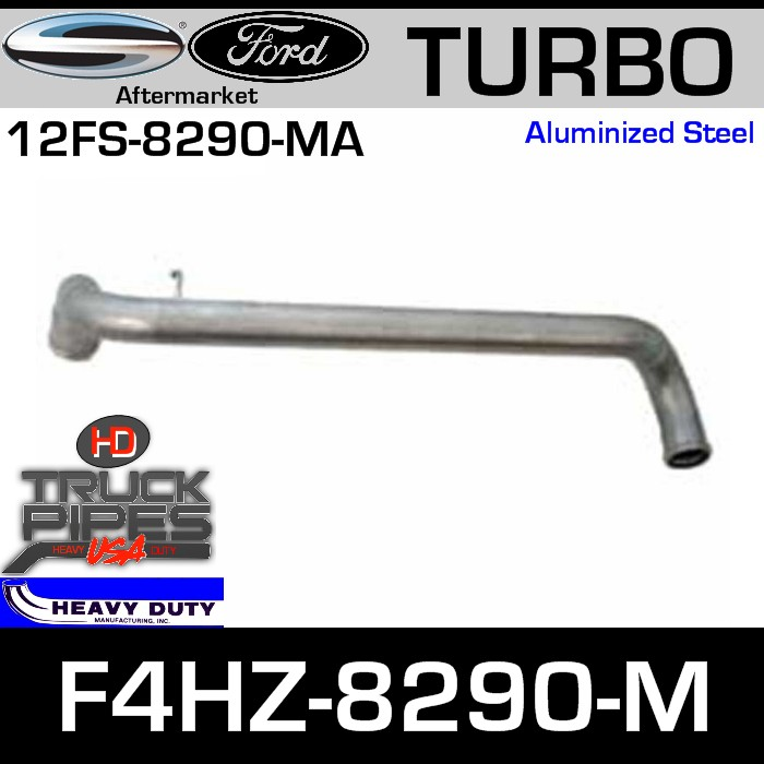 Ford Replacement Exhaust Pipe F4HZ-8290-M