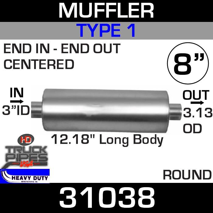 Type 1 Muffler 8
