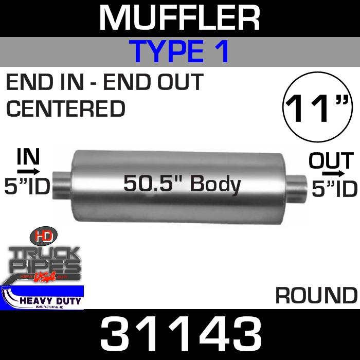 Type 1 Muffler 11.09