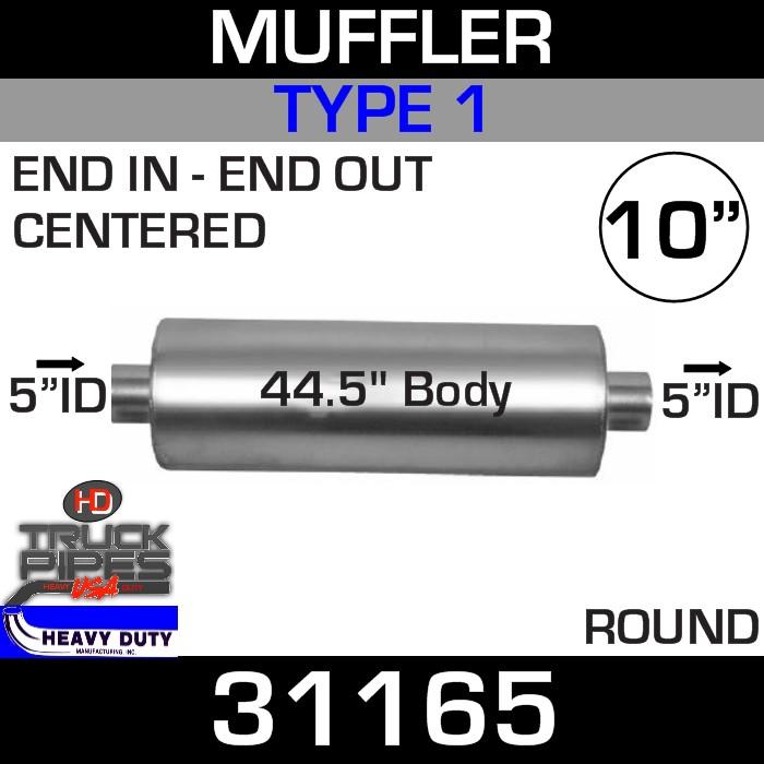 Type 1 Muffler 10.08