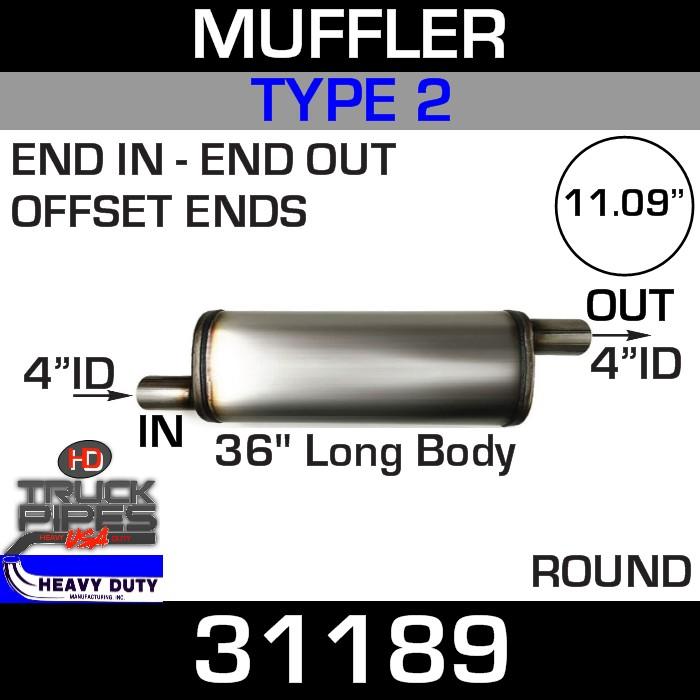 Type 2 Muffler 11.09