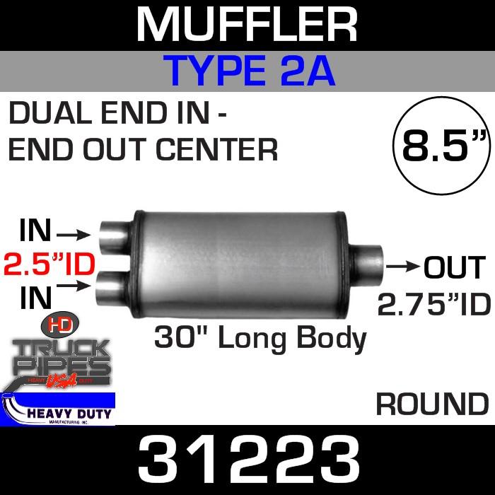 Type 2A Muffler 8.5